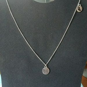 Jewelry - Last Day! Closet closing! Peace and dove necklace